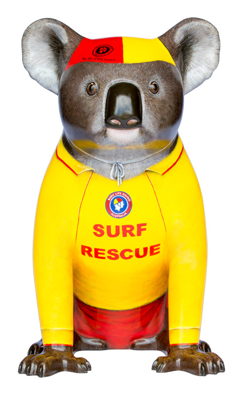 Mack the Surf Lifesaver