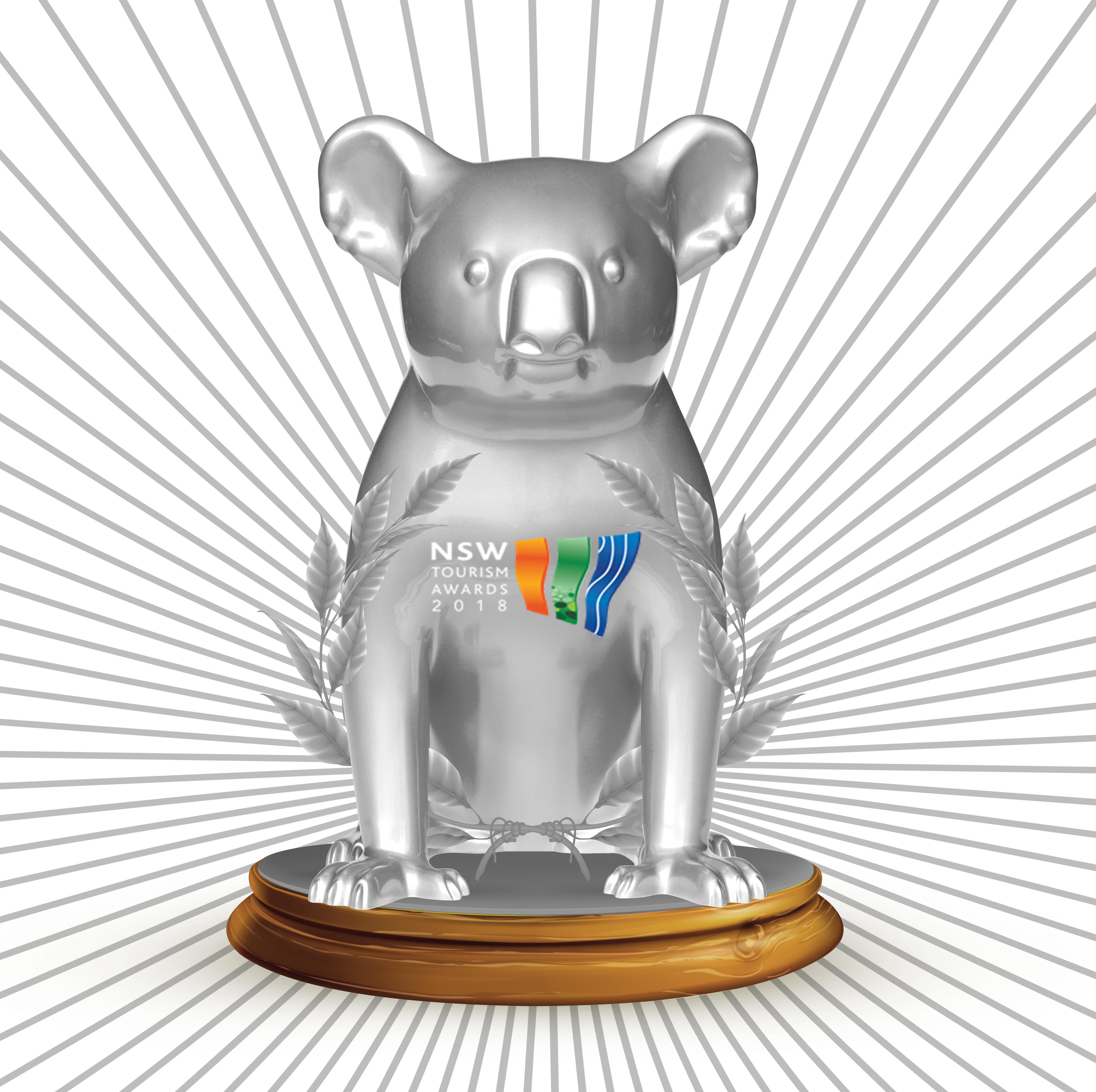 Silver for Hello Koalas at NSW Tourism Awards